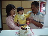 仕頎の成長記錄:960519一歲生日