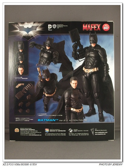 VE061353.JPG - Mafex 6吋 Batman:Dark Knight 蝙蝠俠:黑暗騎士 2.0版