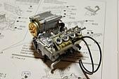 1/12 Yamaha YZR-M1 04 製做公開:汽缸引擎部件分色組裝完成