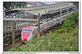 20190205 新北市 汐科站 台鐵 南海電鐵彩繪列車-藍武士 補考:DSC_9189.JPG
