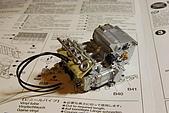 1/12 Yamaha YZR-M1 04 製做公開:好正點的引擎呀!