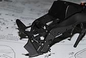 1/12 Yamaha YZR-M1 04 製做公開:骨架後方