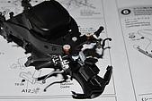 1/12 Yamaha YZR-M1 04 製做公開:骨架前方