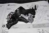 1/12 Yamaha YZR-M1 04 製做公開:骨架左側