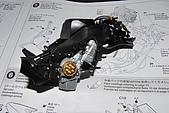 1/12 Yamaha YZR-M1 04 製做公開:骨架右側