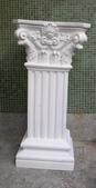 雕像 羅馬柱 噴水池出租/出售:EK-44  Dia. 30x110cm ,柱頭 55x55cm  租金: 1,500  押金: 7,500