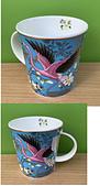藝術收藏:紅鶴馬克杯.JPG