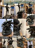 藝術收藏:海神-----波賽頓持三叉戟 銅雕  45X117CM H.JPG
