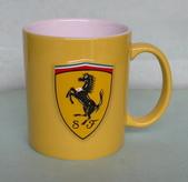 藝術收藏:Ferrari mug  dia. 85x100mm