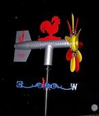 避雷針景觀風向機:JK-168R+LED