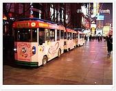 上海12日遊:步行區上的觀光列車