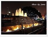 上海12日遊:外灘走道噴水池