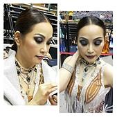 古裝造型  國標舞造型  走秀 妝 髮 量身訂做 共創完美作品: