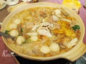 【中山區】香港醉紅樓潮州菜館。經典滷水、石榴雞、絲瓜煎、反沙芋頭:P1280045.JPG