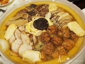 【大安區】老上海菜館。【大安區】老上海菜館。花三鮮、腐衣素鵝、馬頭魚豆腐、蒜頭炒飯:【大安區】老上海菜館。【大安區】老上海菜館。花三鮮、腐衣素鵝、馬頭魚豆腐、蒜頭炒飯
