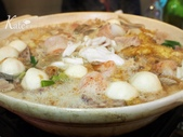【中山區】香港醉紅樓潮州菜館。經典滷水、石榴雞、絲瓜煎、反沙芋頭:P1280051.JPG