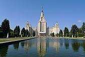 俄羅斯─莫斯科之旅:莫斯科大學景色