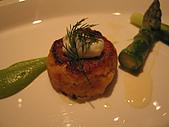 A CUT牛排館:鐵板煎蟹餅