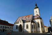 CROATIA克羅埃西亞﹝上﹞:聖馬克教堂
