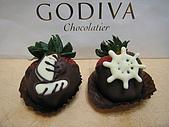 GODIVA2013情人節巧克力:GODIVA草莓手工巧克力