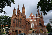 立陶宛之旅:聖安娜教堂