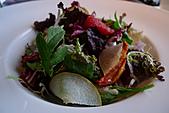 精緻商業套餐:有機生菜襯義式藍紋起士及水梨佐陳年酒醋