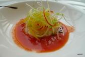 米其林廚藝教室佳餚:薑味胭脂蝦沙拉佐蕃茄醬汁