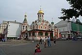 俄羅斯─莫斯科之旅:復活門周邊景色