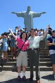 巴西─Rio de janeiro之旅:基督山的基督神像