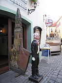 捷克﹝克倫羅夫﹞之旅:餐廳