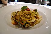 Albero 假日超值套餐:干貝竹蛤什錦海鮮風乾蕃茄義大利麵