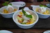 Osteria by Angie精緻義大利料理:綜合水果及自製冰淇淋