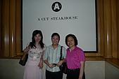 A CUT牛排館:與壽星合影