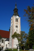 SLOVENIA斯洛凡尼亞布列德湖:聖馬汀教堂