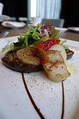 精緻商業套餐:碳烤鮮茄干貝沙拉
