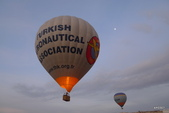 土耳其Turkey之旅─熱氣球專輯:熱氣球翱翔天際