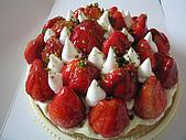 耶誕快樂!:草莓蛋糕
