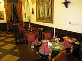 捷克﹝克倫羅夫﹞之旅:文藝復興宮廷晚宴餐廳