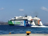 希臘一聖托里尼風情:快船