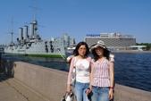 聖彼得堡之旅﹝上﹞:除役軍艦展示
