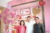 GODIVA2016微風南京店開幕猴年情人節巧克力巧傳心:與甜點大師王豔炫合影