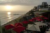 秘魯之旅﹝下﹞:眺望海玫瑰餐廳景致