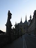 捷克之旅:聖芭芭拉教堂周邊景色