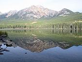 冰原&傑士伯國家公園:金字塔湖