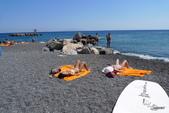 希臘一聖托里尼風情:聖托里尼海灘景緻