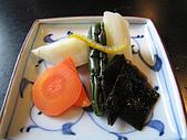 日本創作料理:醬菜