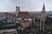 Bundesrepublik Deutschland德國之旅─威瑪、拜洛伊特、羅騰堡、紐倫堡、慕尼黑:眺望瑪麗恩廣場景致