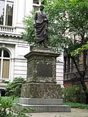 美加賞楓遊:街景雕塑