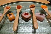 带金利明Toshiaki Obigane懷石料理:九品生魚片