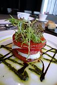 精緻商業套餐:蕃茄起士盤